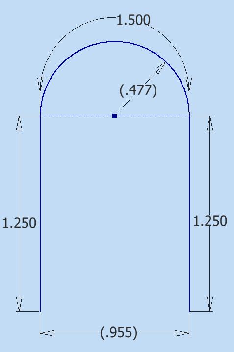 Trying to make simple U-Shaped bent Tubing 1/8 Diameter  - Autodesk