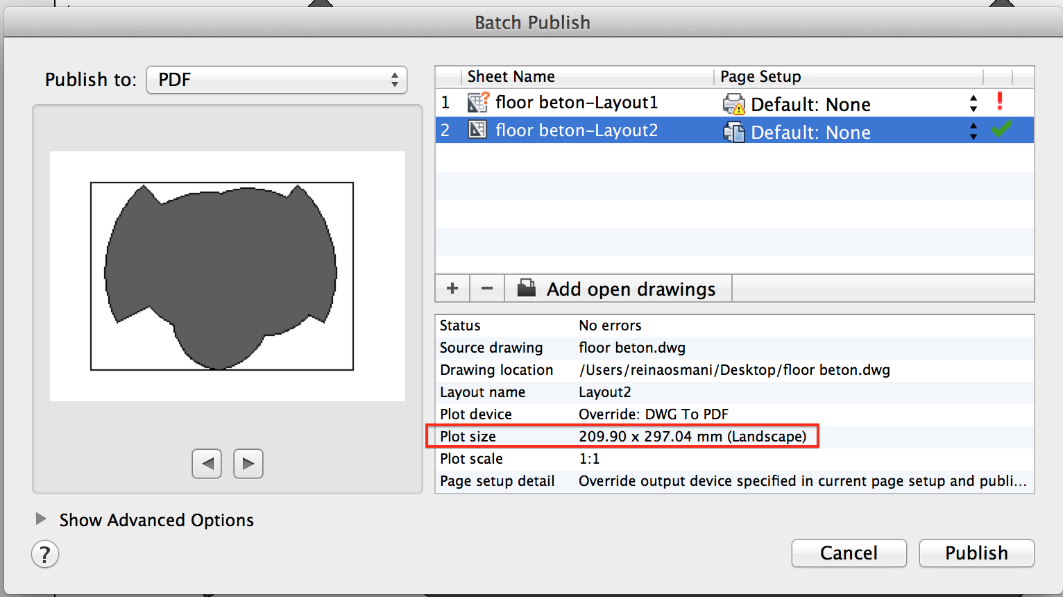 how to create layout in autocad 2014