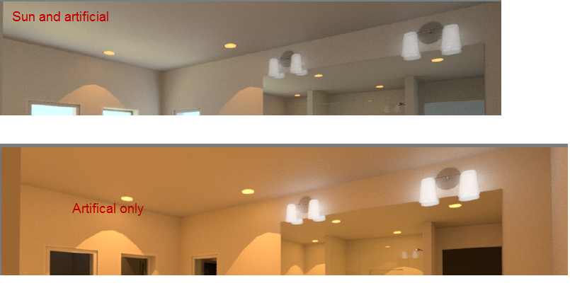 Recessed can lights dont work with final setting autodesk resultg aloadofball Gallery
