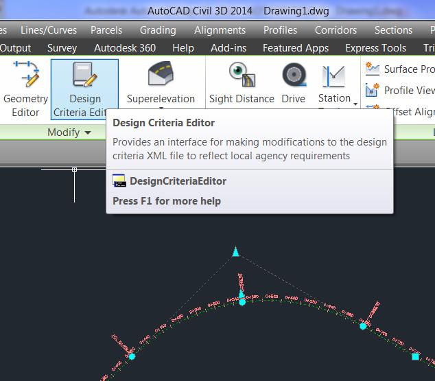 Solved: Road design criteria - Autodesk Community- Civil 3D