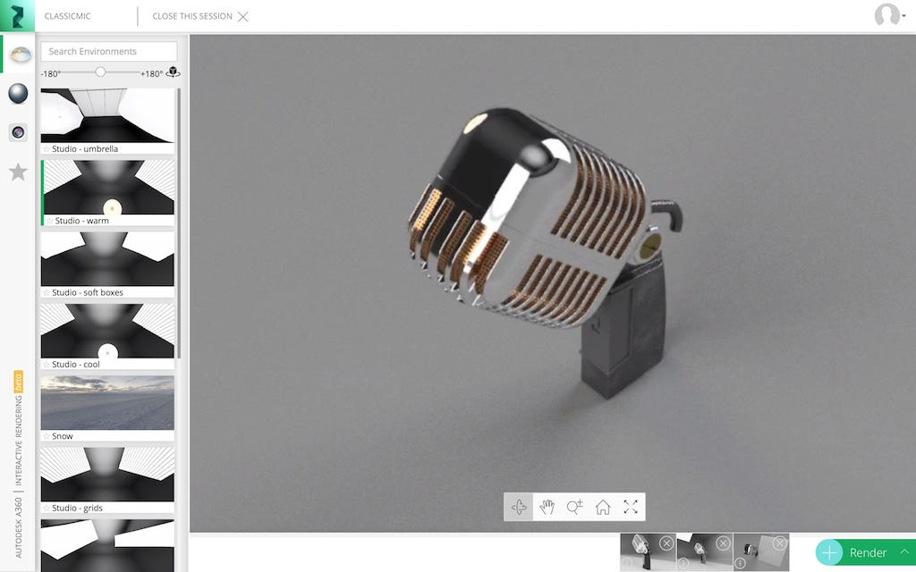 Real-time Photorealistic-rendering with A360 - Fusion 360 Blog