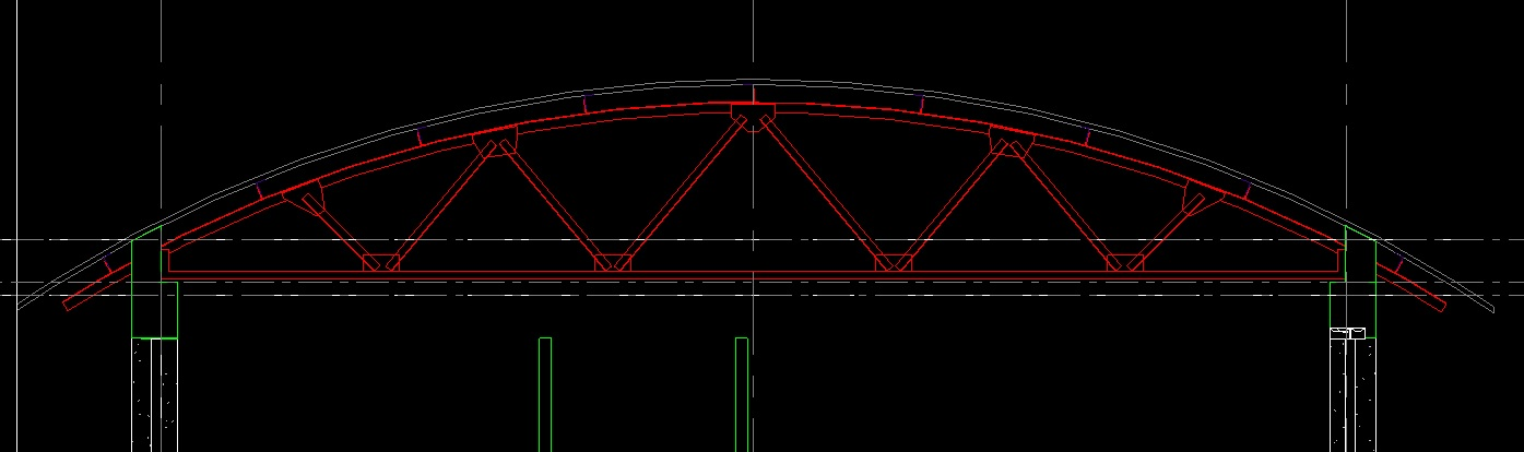 Steel Truss Family With Arched Top Chord Autodesk Community