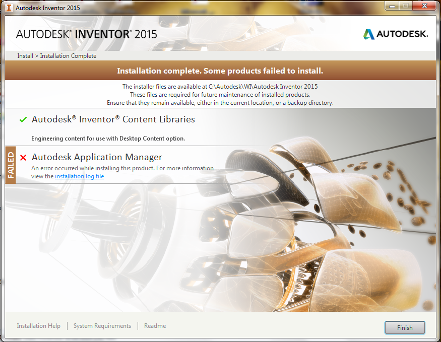 uninstall autodesk application manager 2014