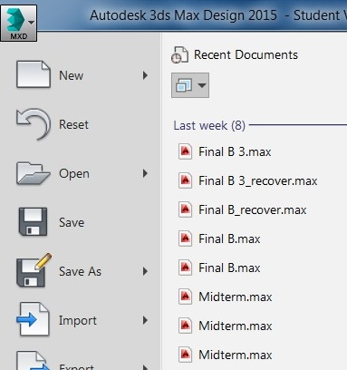 My 3ds max is automatically save as Autocad file - Autodesk