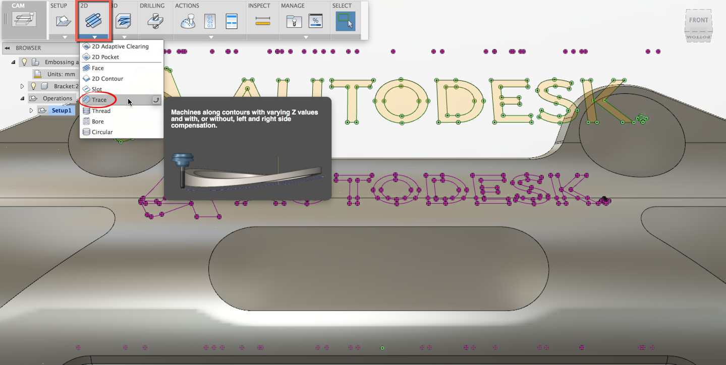 CAM for Fusion 360: Engraving a Logo & Working with Surfaces