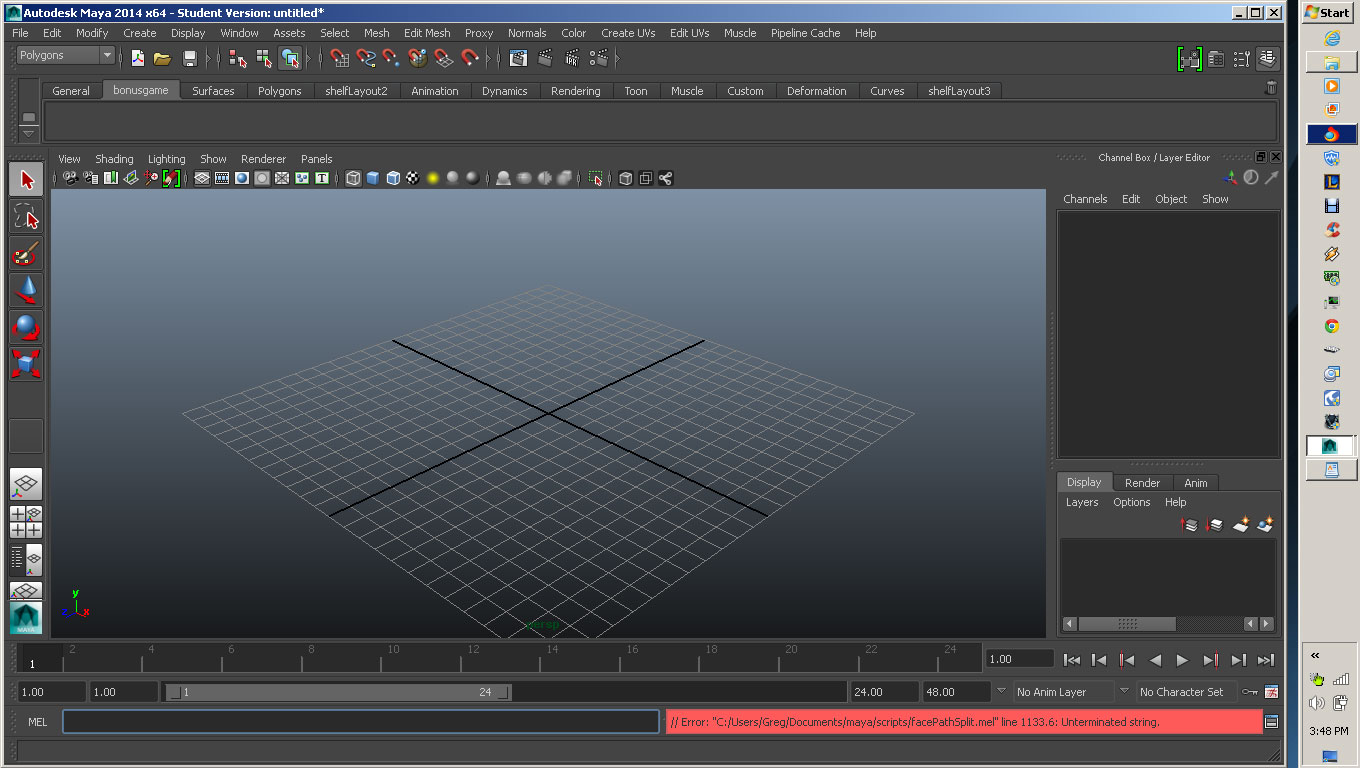 Solved: Can't add new scripts from Wavefront DVDs to Maya