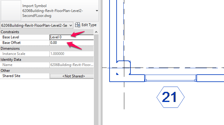 how to send to back on revit