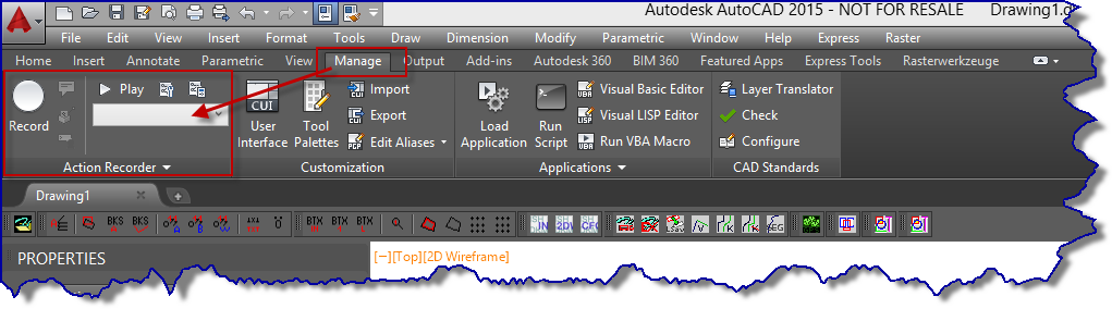 Solved: Action Recorder (where is it)? - Autodesk Community