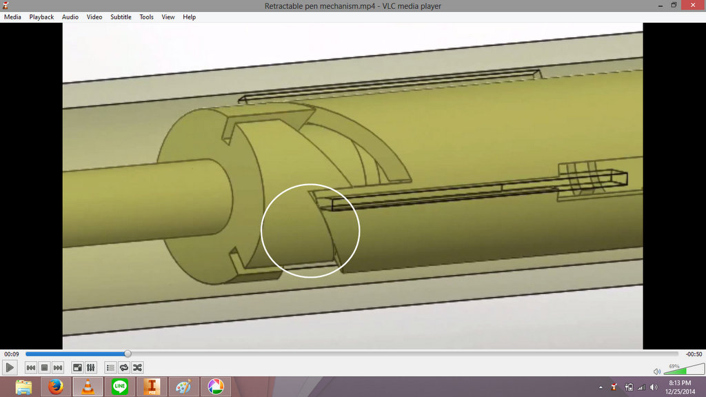 Solved How To Make A Retractable Pen Mechanism Autodesk