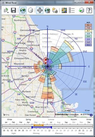 wind rose diagram autodesk community