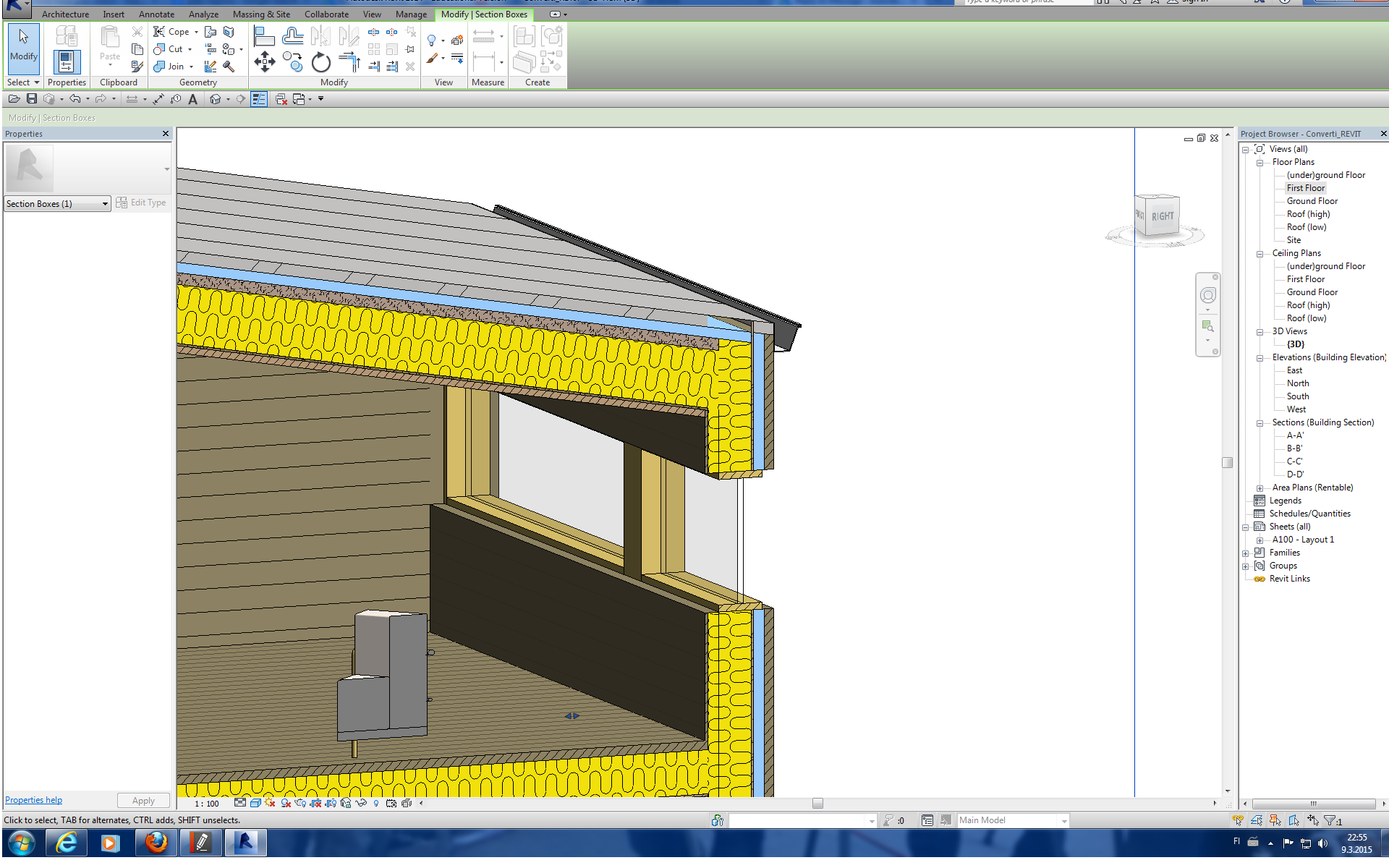 Roof Coping Revit Amp Once The Extrusion Roof Is Created You