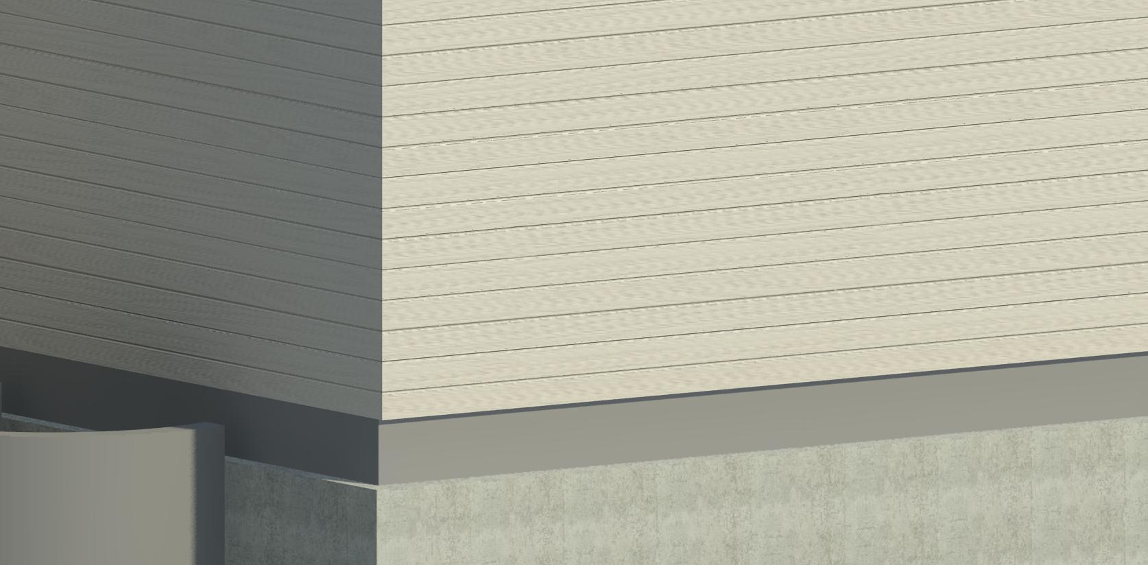 Solved Extending Siding Down To The Brick Ledge Or Ledge