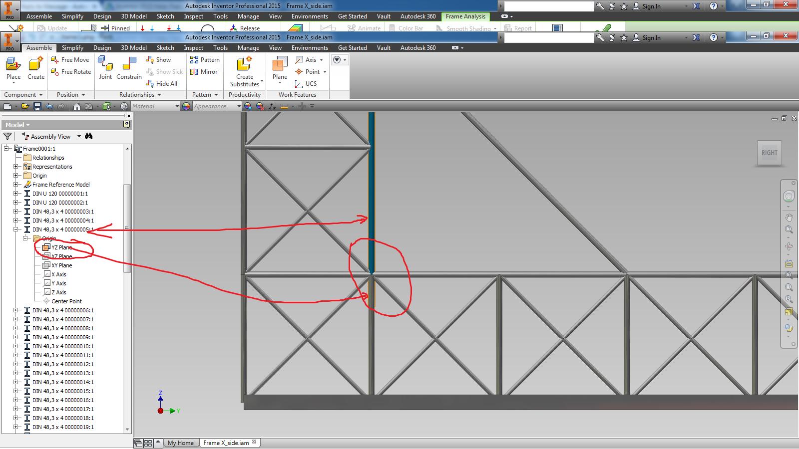 Frame analysis - expert help needed - Autodesk Community