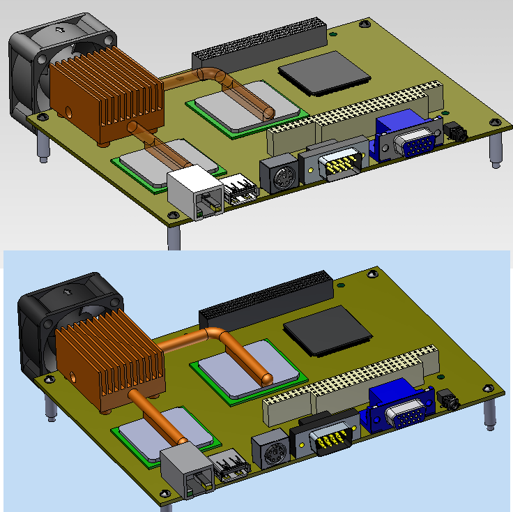Assigned colors are lost when importing STEP or Solidworks ...