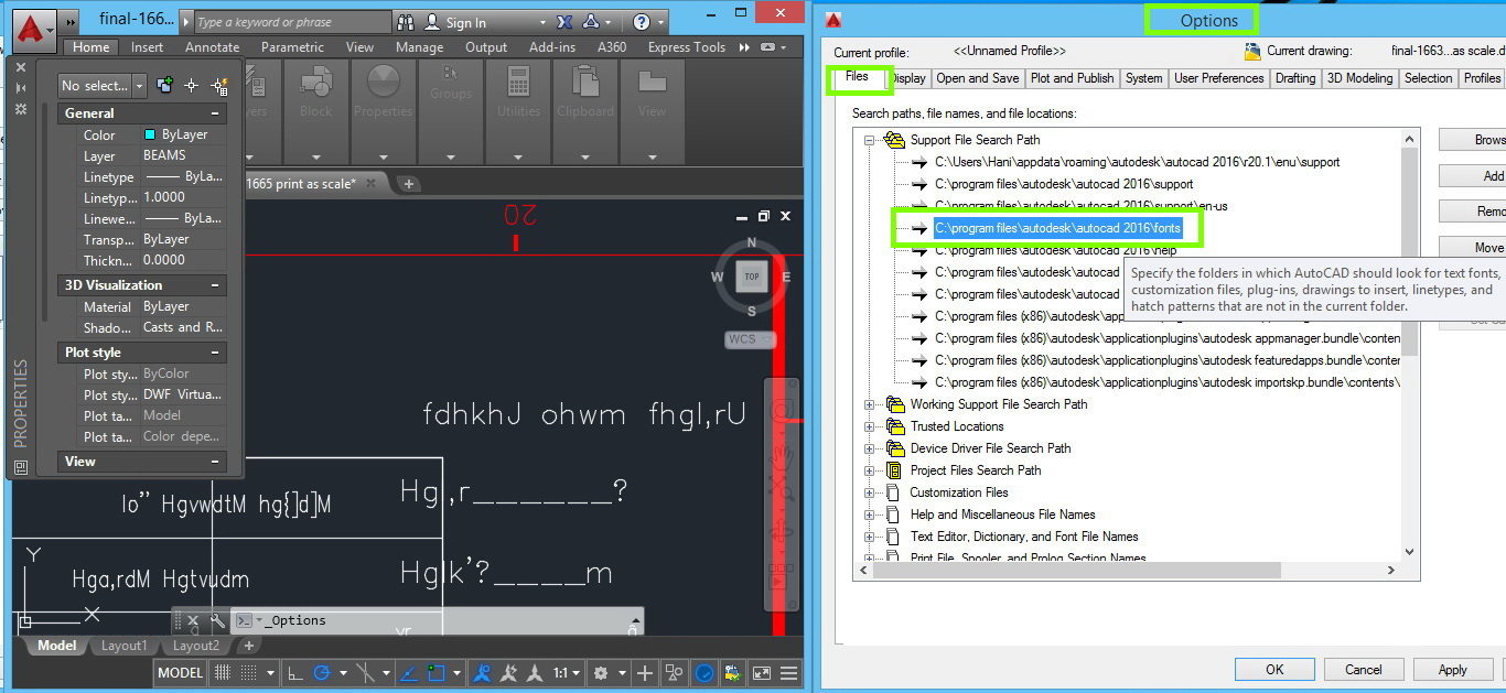 Autocad 2016 Does Not Read Arabic Font With Xarb Style