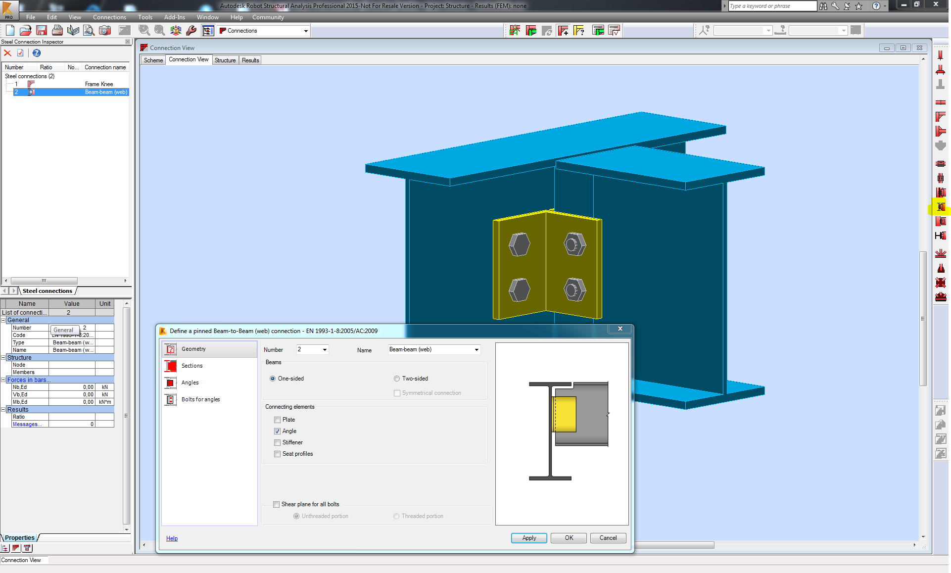 Hollow sections column beam connections autodesk community