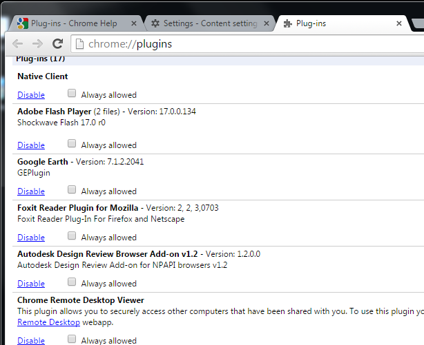 Chrome Browser Addon issues - Autodesk Community- Design Review