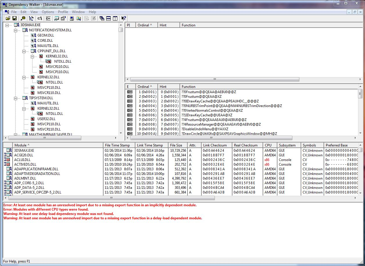 3ds max 2015 doesn't start  (error 0xc000007b) - Autodesk