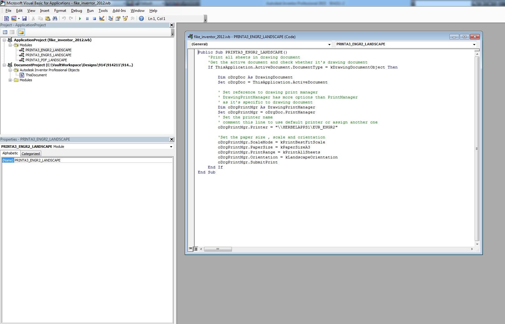 Solved: VBA editor won't load/work correctly (everything is
