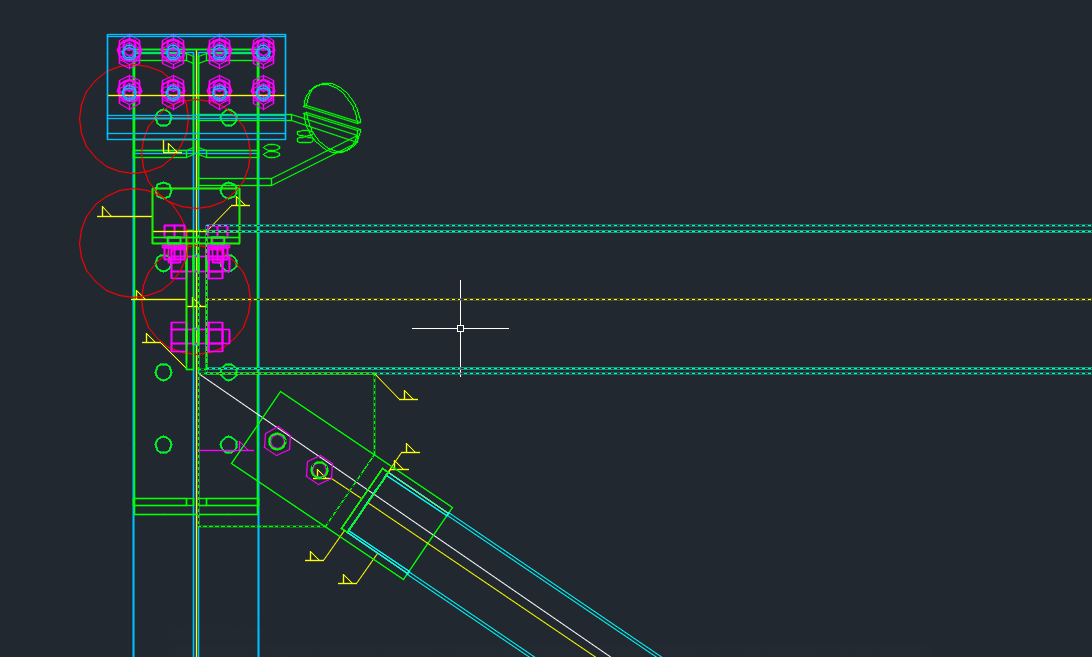 Solved: Gusset plate braces to BEAM - Autodesk Community