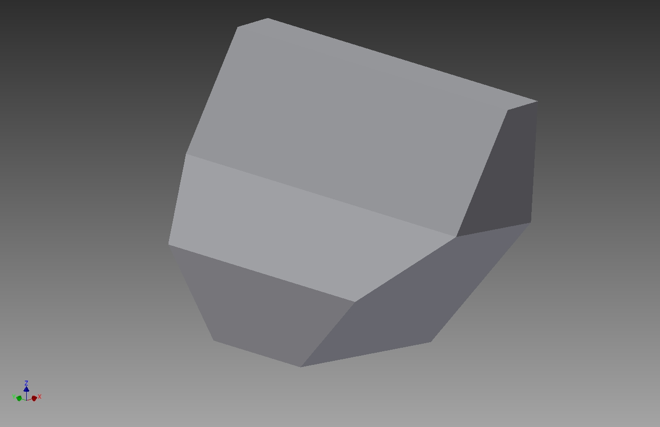 Solved Convert A Hollow Solid Part To Sheet Metal Flat