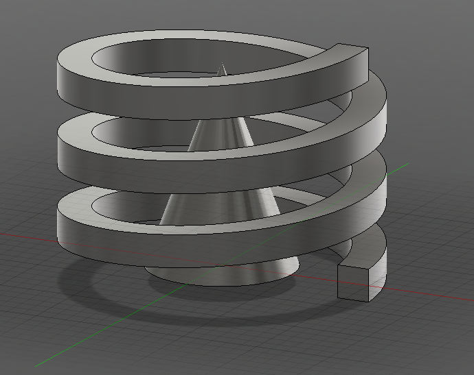 Solved: Spiral cone model issues - Autodesk Community