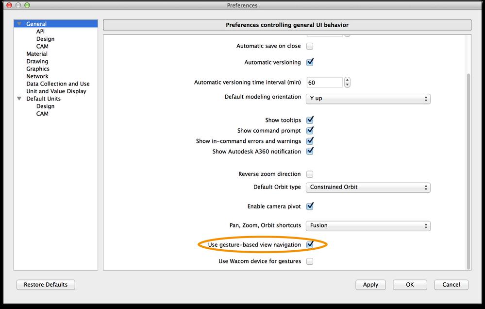 Fusion 360 Mac trackpad problem - Autodesk Community- Fusion 360
