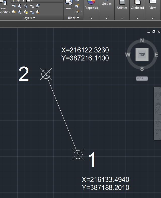 Drawing Lines In Autocad Using Coordinates : How to convert autocad point revit coordinates using
