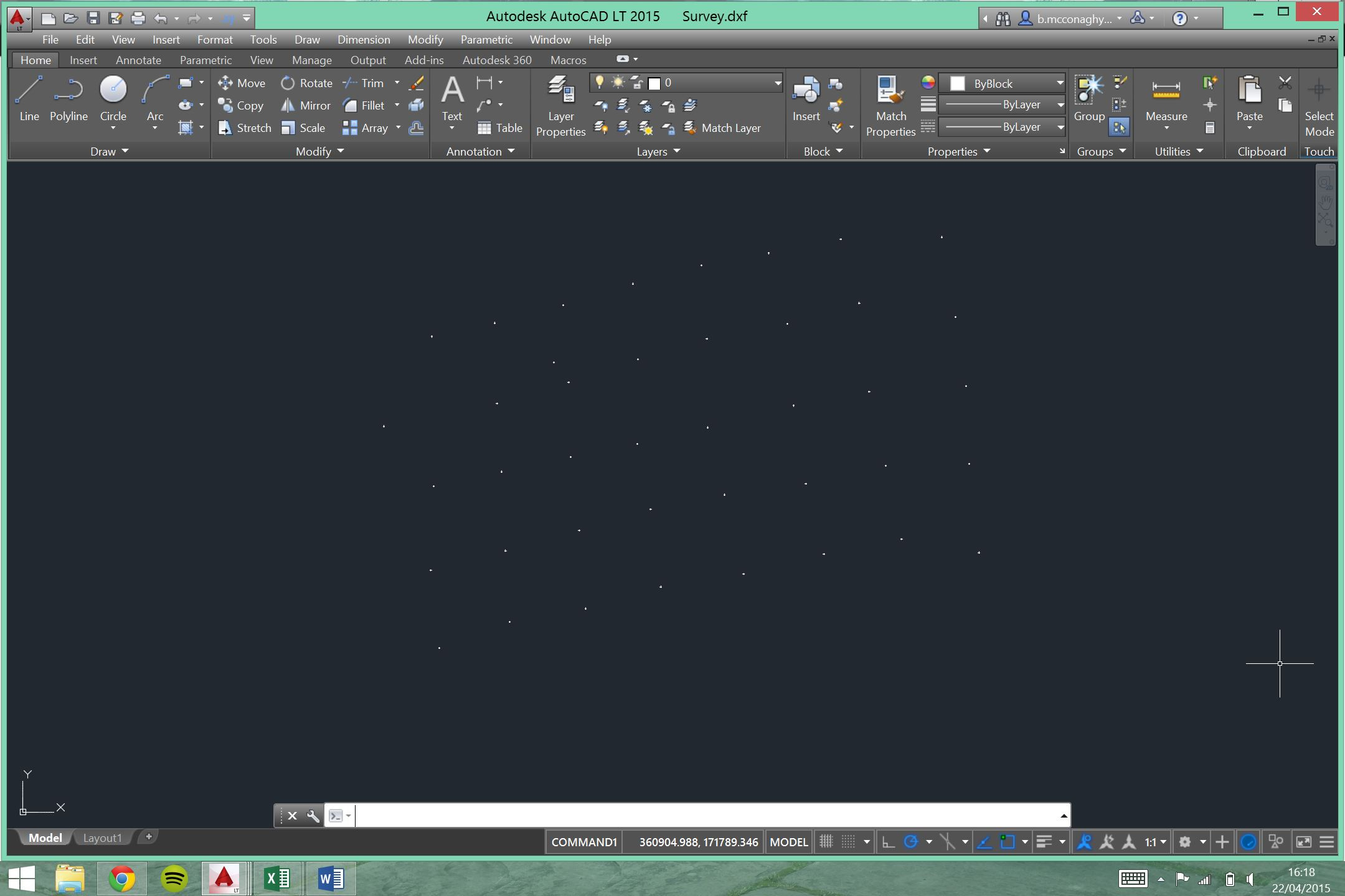 Import Xyz Points Into Autocad Drawings