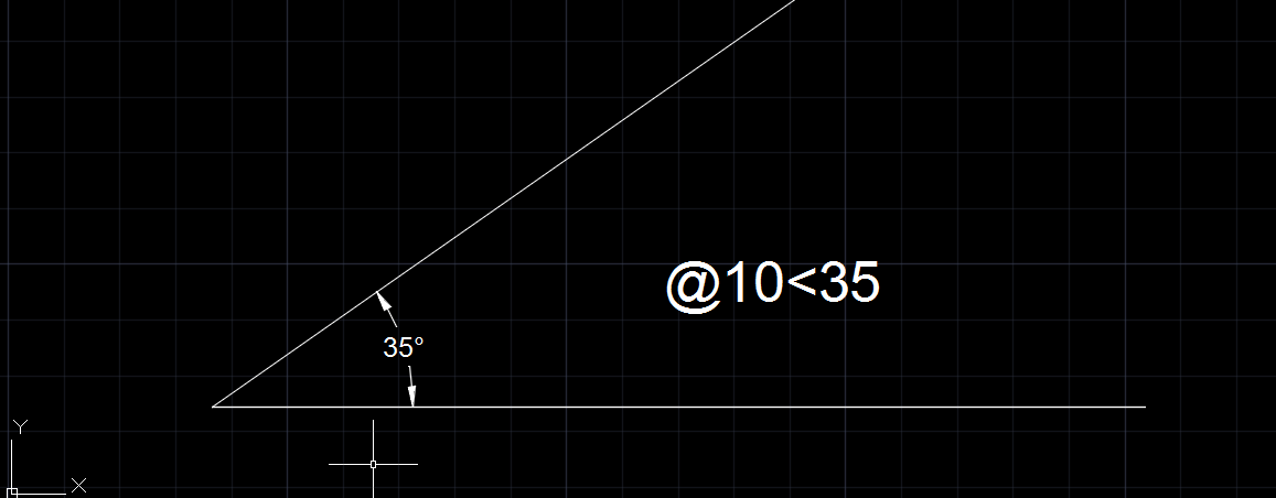 Drawing Lines With Angles In Autocad : Solved drawing a line with the north orientation