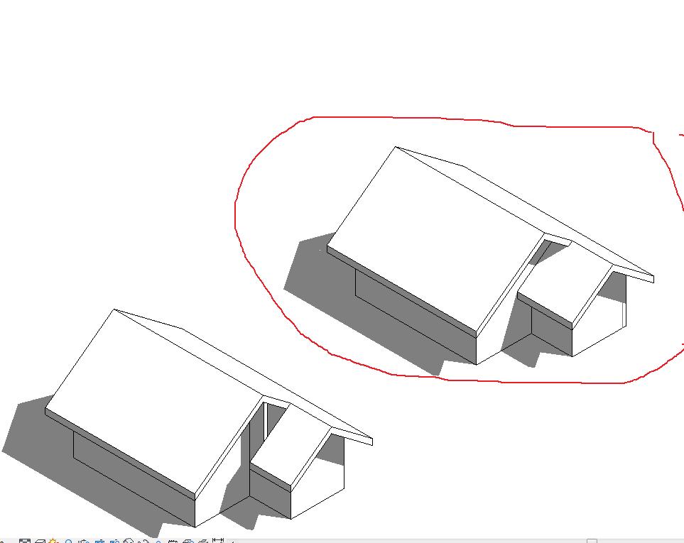 Split Gable Roof Autodesk Community