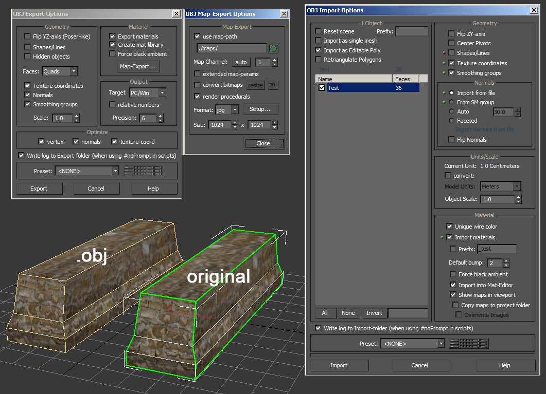 Solved: exporting models with textures as  obj - Autodesk Community