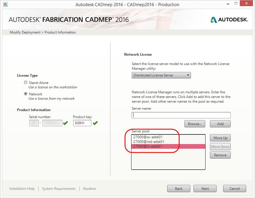 Did you notice? Specify port w/License server - Autodesk