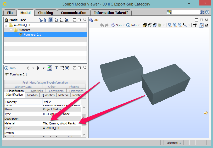 Can REVIT families be exported as IFC files? - Autodesk