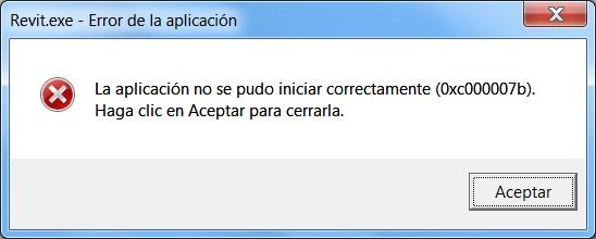 Revit 2015 0xc000007b error - Autodesk Community