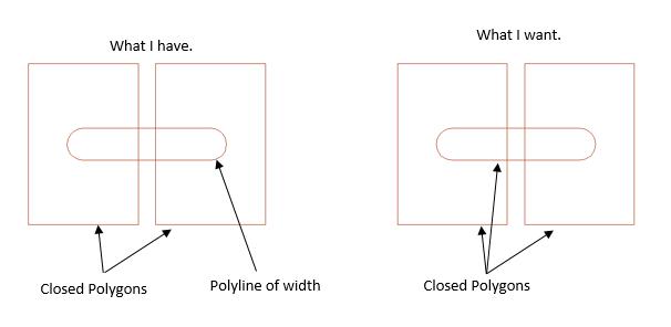how to make a polyline autocad