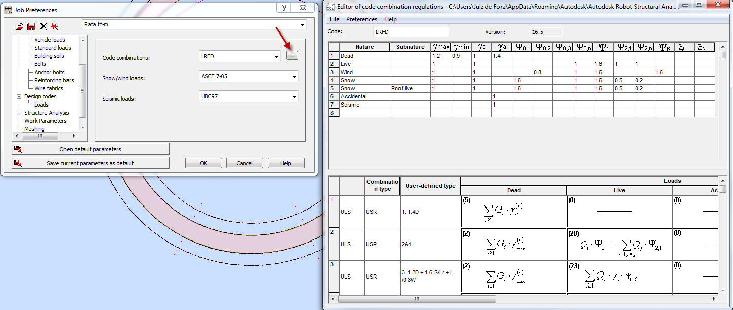 Solved: user automatic load combinations - Autodesk