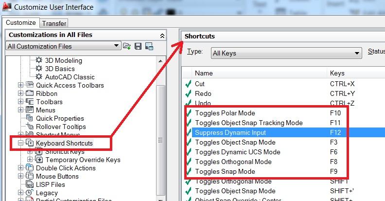 Function Keys - Autodesk Community- AutoCAD