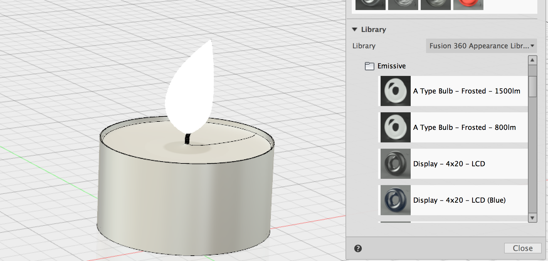 Solved: How to make a realistic candle flame? - Autodesk