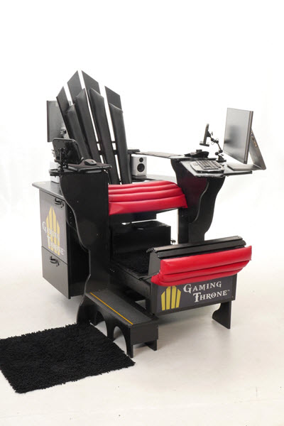 Excellent Gaming Throne Brings A New Level Of Ergonomic Comfort To Ibusinesslaw Wood Chair Design Ideas Ibusinesslaworg