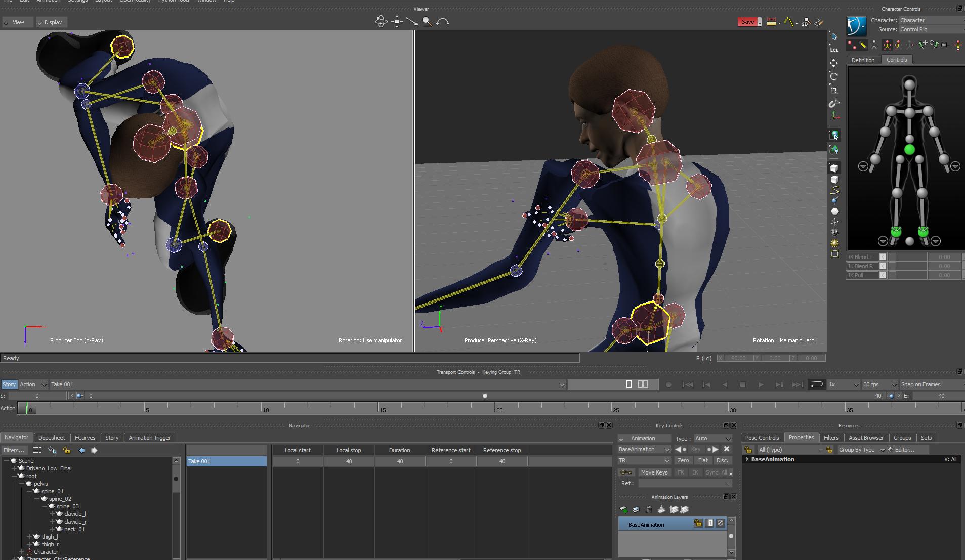 Animation Retargeting retargeting animation in motionbuilder - autodesk community