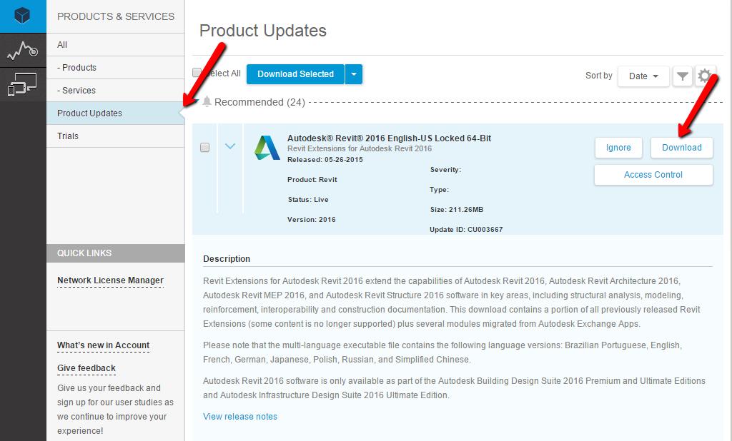 Autodesk Revit Architecture 2016 Buy Key
