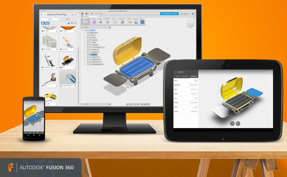 A key value proposition for Fusion 360 is to provide access to your design  data from anywhere and on any device. Fusion 360 is natively written for  Mac, PC, ...