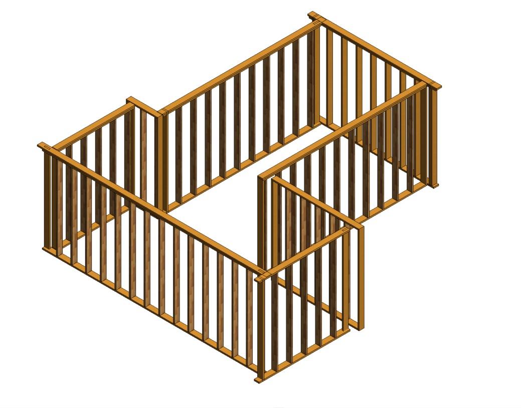 3d framingjpg - Wood Framing
