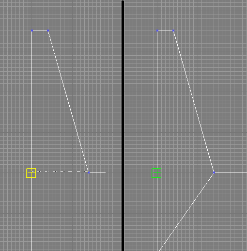 Cut tool snapping to midpoints and certain vertices