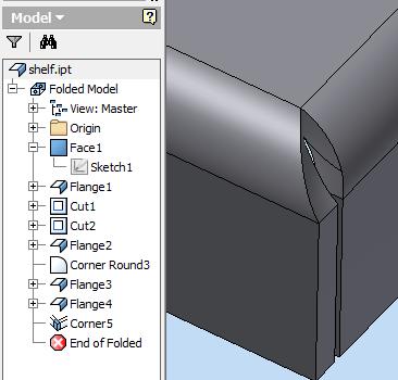 Sheet Metal How To Make The Corners Square Autodesk