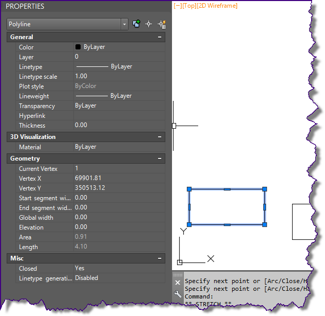how to find the length of a spline in autocad