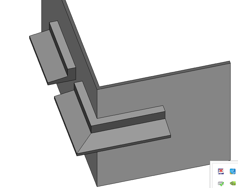 Solved: chajja OR window over hang creation & miter joint