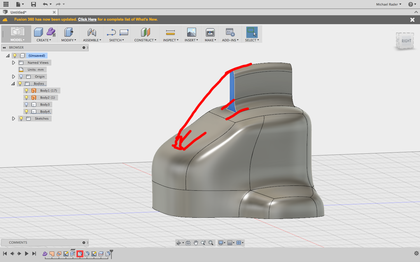 Solved: How to extrude along a path - Autodesk Community- Fusion 360
