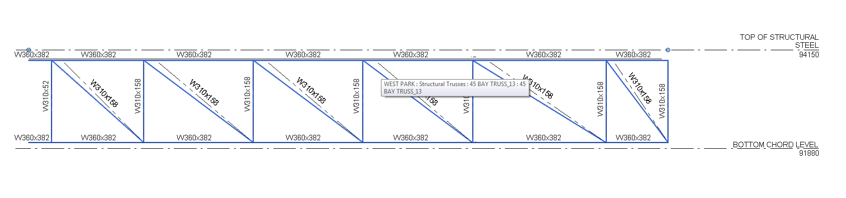 Why are my revit truss diagonal members off?? - Autodesk